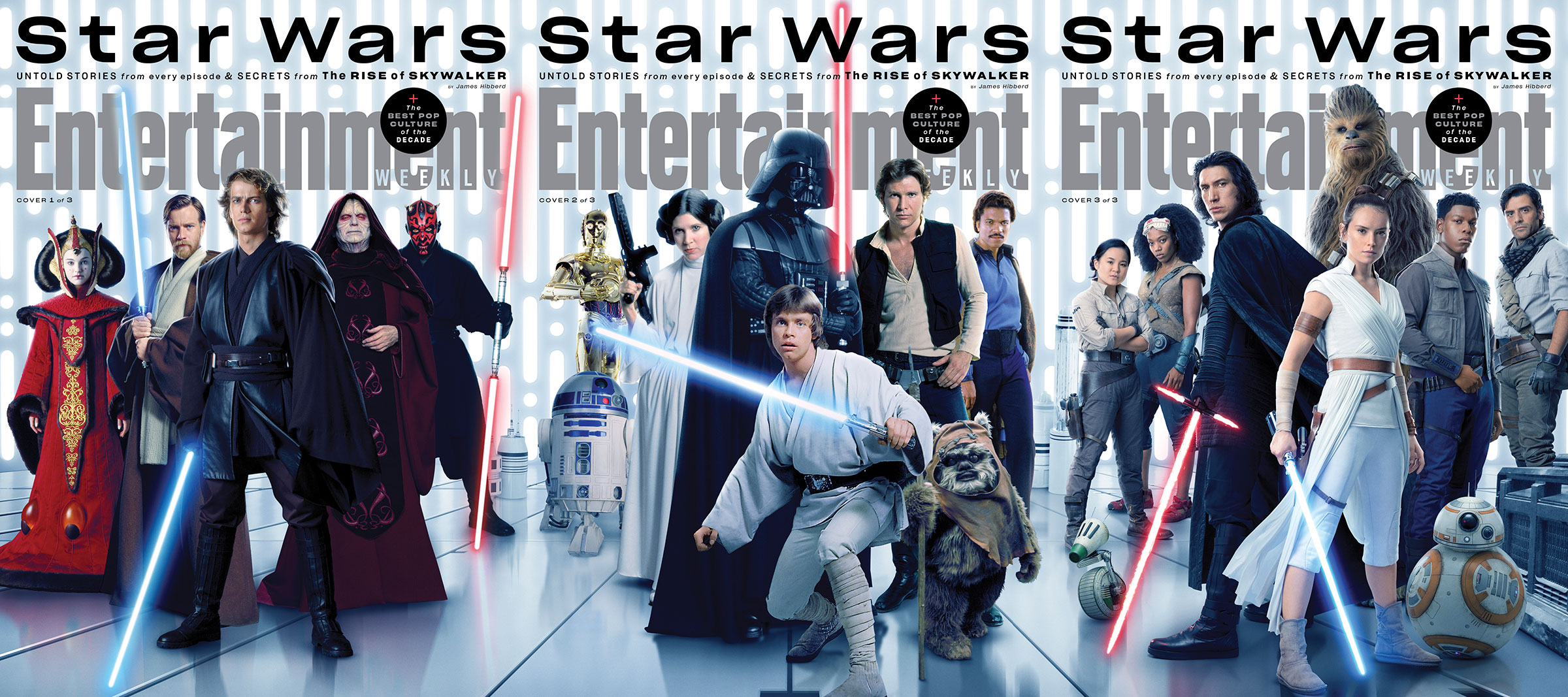 Star Wars Collectible Covers From Entertainment Weekly