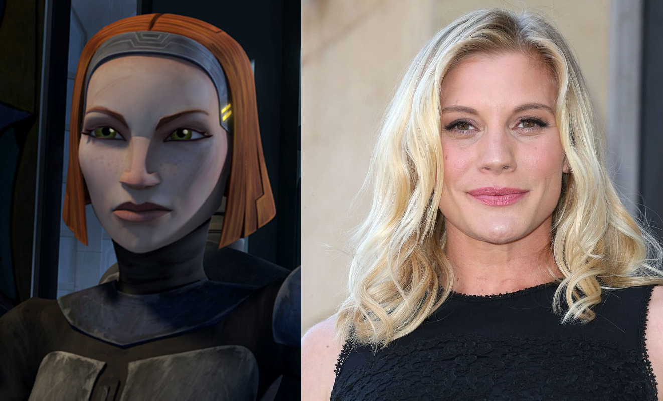 The Mandalorian Star Wars Bo Katan Katee Sackhoff